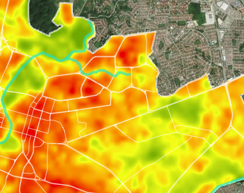 Land-Surface-Temperature-of-Ipoh-City